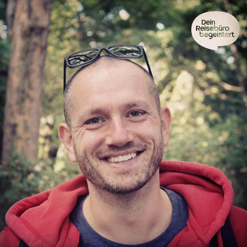 René Morawetz ist der Kopf von Dein Reisebüro begeistert (by m2e)